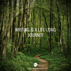 writing - lifelong journey